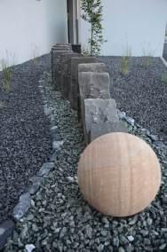 Paysagiste Valais aménagement d'une entrée originale