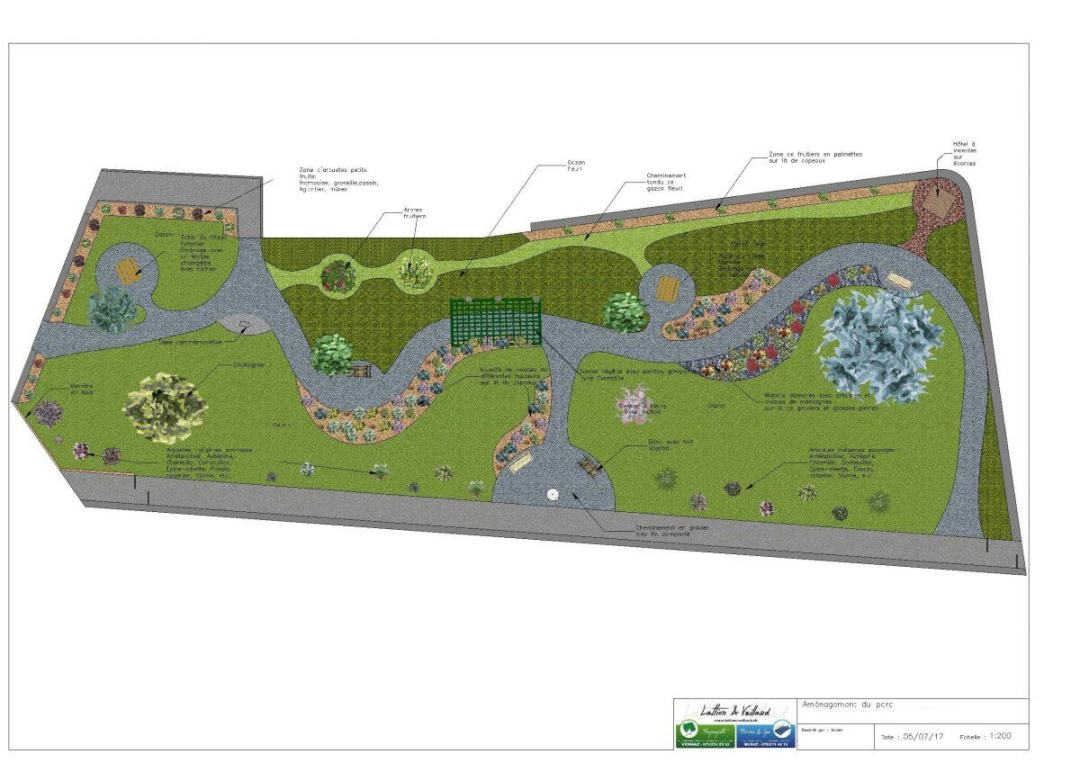 Projet 2D parc de collectivité