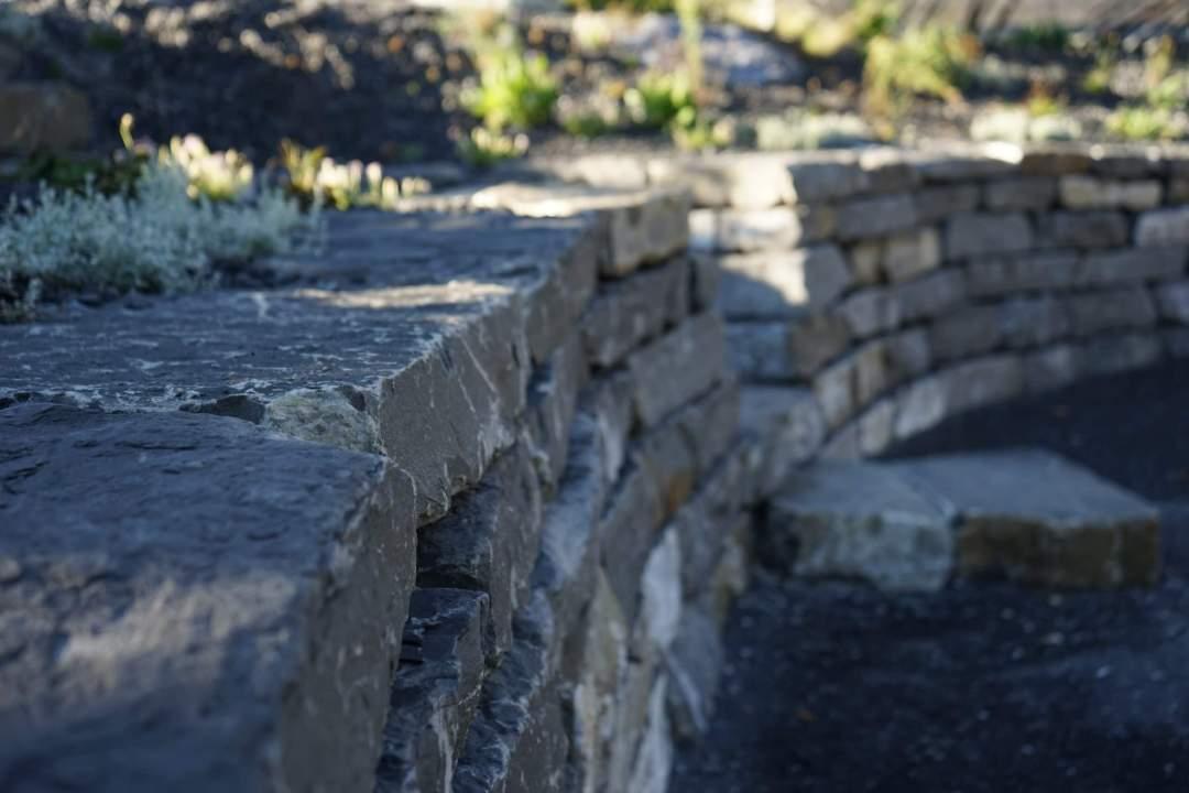 Enrochement mur pierre collombey monthey valais