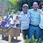 Salvadoreños comparten imágenes de los que dañaron patrimonios y quemaron la bandera de El Salvador para que los metan presos