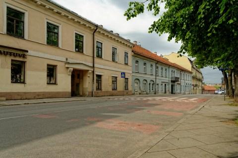 Bild: Auch in der Polocko gatvė lässt sich der einstige Wohlstand von Užupis noch spüren. NIKON D700 und AF-S NIKKOR 24-120 mm 1:4G ED VR.