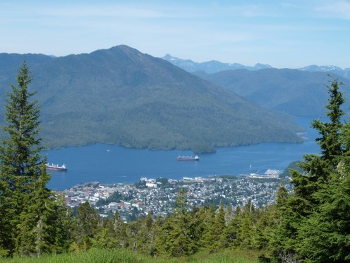 Prince Rupert, BC from above