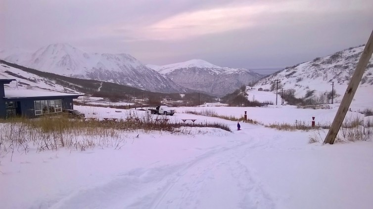 Arctic Valley Sledding