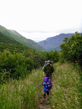 Crow Pass Trail - Eagle River to Girdwood