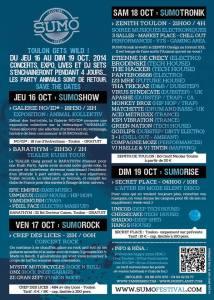 sumotronik programme 2014