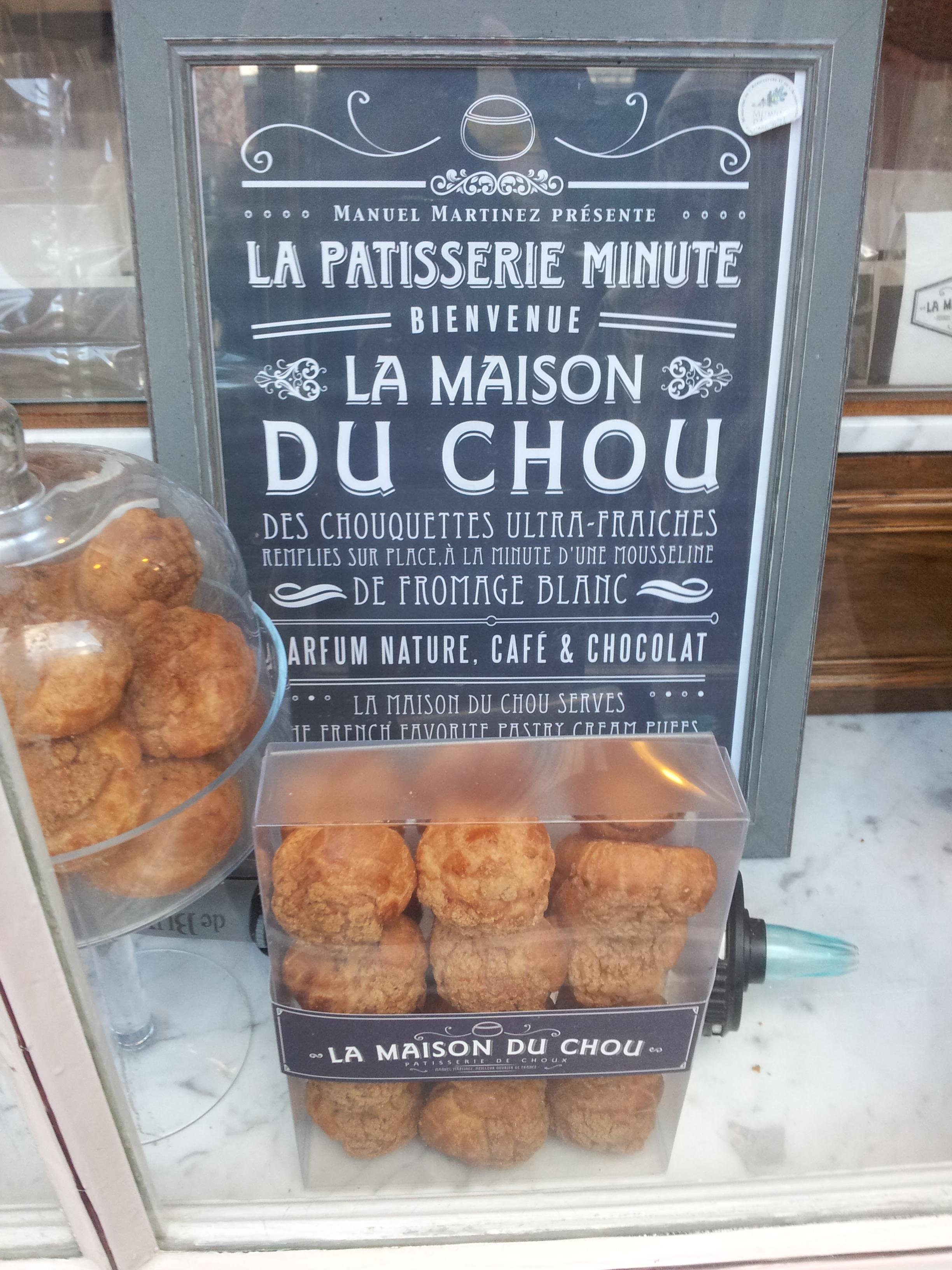 La maison du choux paris paris chocolate and pastry food - La maison du chou ...