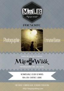 vernissage maï b. atypique concept mars 2015 may wook emmanuel bavoux