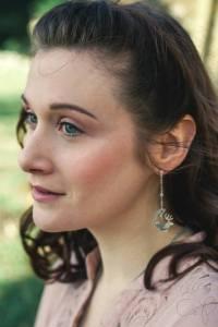 boucles d'oreilles cerf