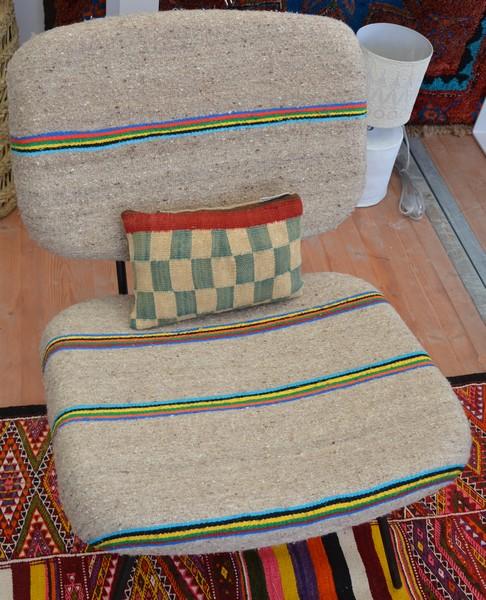 fauteuil tissus vintage rock the kasbah