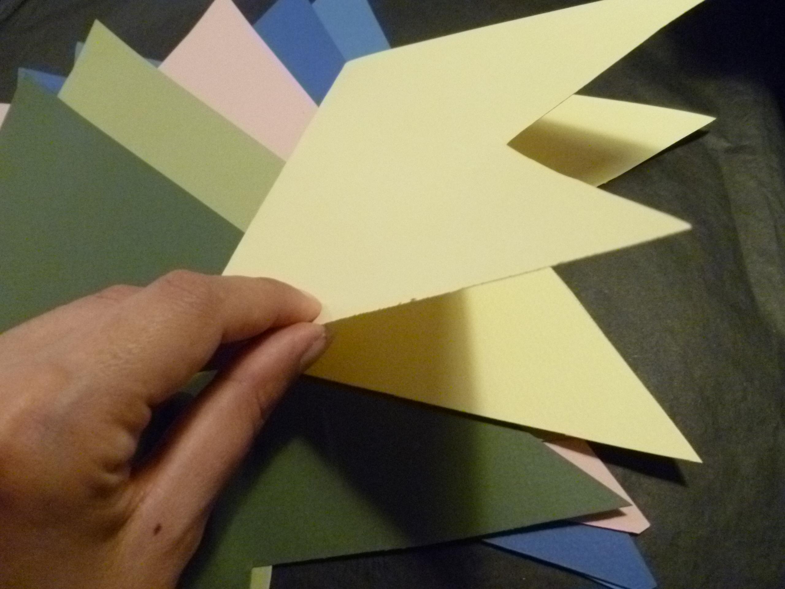 Diy Une Guirlande à Fanions En Papier Personnalisée L Atypique Blog