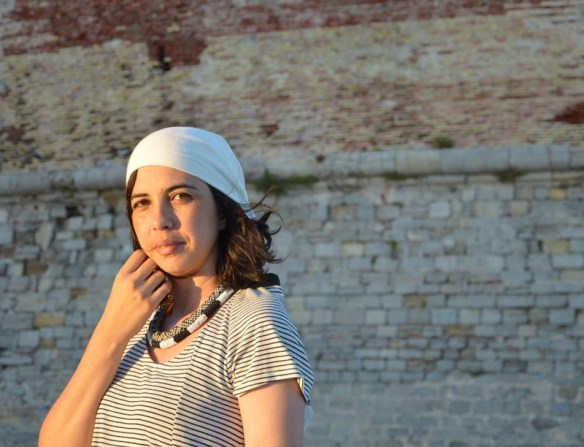 look mode blogueuse marin pirate rayures noir et blanc