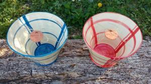 saladiers rayés céramique du sud les pots de vanille