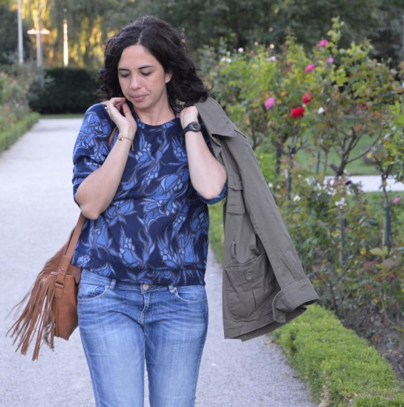 ootd rentrée 15 franges seventies denim