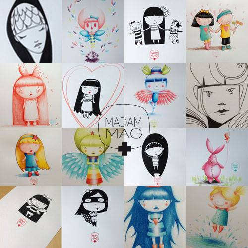 dessins madammag illustratrice