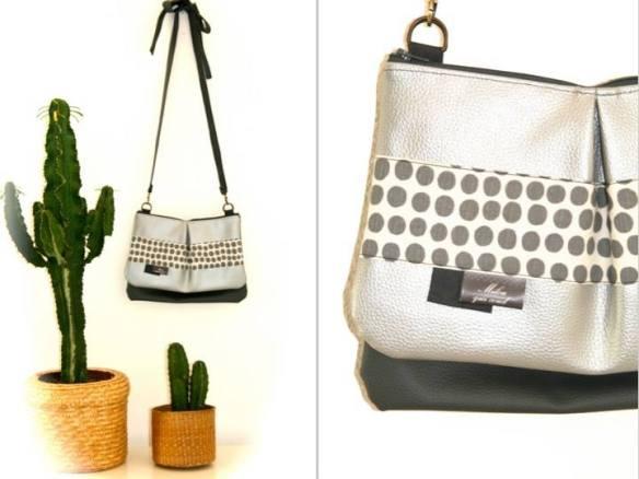double-sac-pochettes-gris-argent-pois-milouquicoud-creation