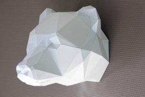 trophee-ours-sclupaper-sculpture-papier-papercraft