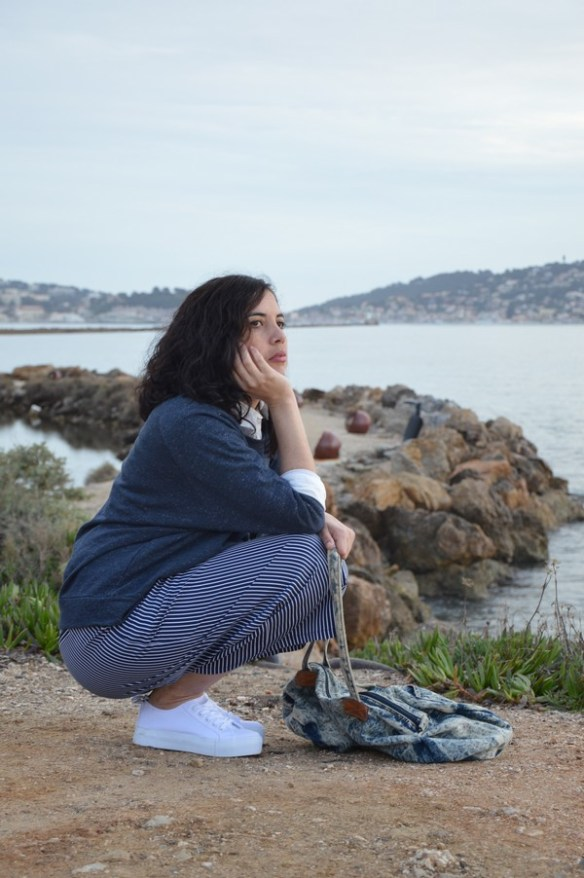 look-mode-marine-bleu-jennyfer-ootd-jupeculotte-sweat
