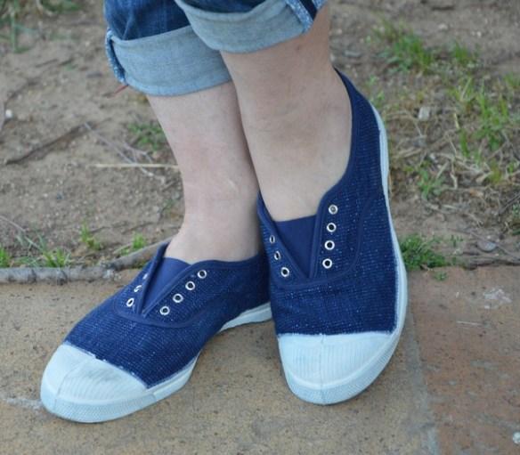 basket-bensimon-elastique-paillettes-bleu-look-mode