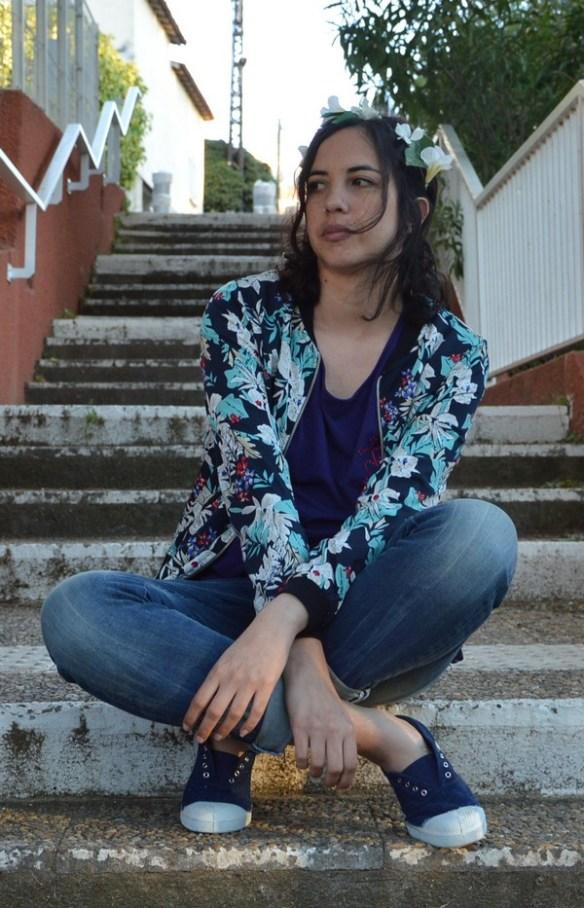 look-tenue-mode-ootd-fleurs-fleuri-pimkie-promod