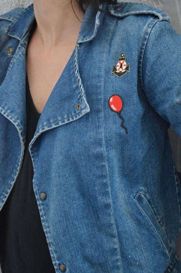 blouson-veste-vintage-customiser-patch-blogueuse-mode