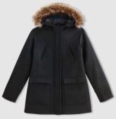 manteau-capuche-fourrure-noir-basique-soldes-la-redoute
