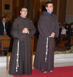 Antonio e Franco, frati per sempre