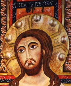 il volto radioso del Crocifisso di San Damiano