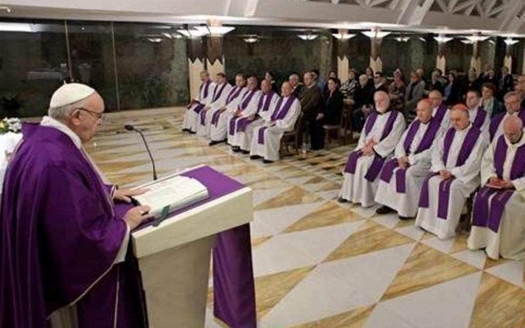 Il Papa: lasciarsi consolare dal Signore, no a lamentele e rancori