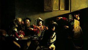 Caravaggio, vocazione di Matteo