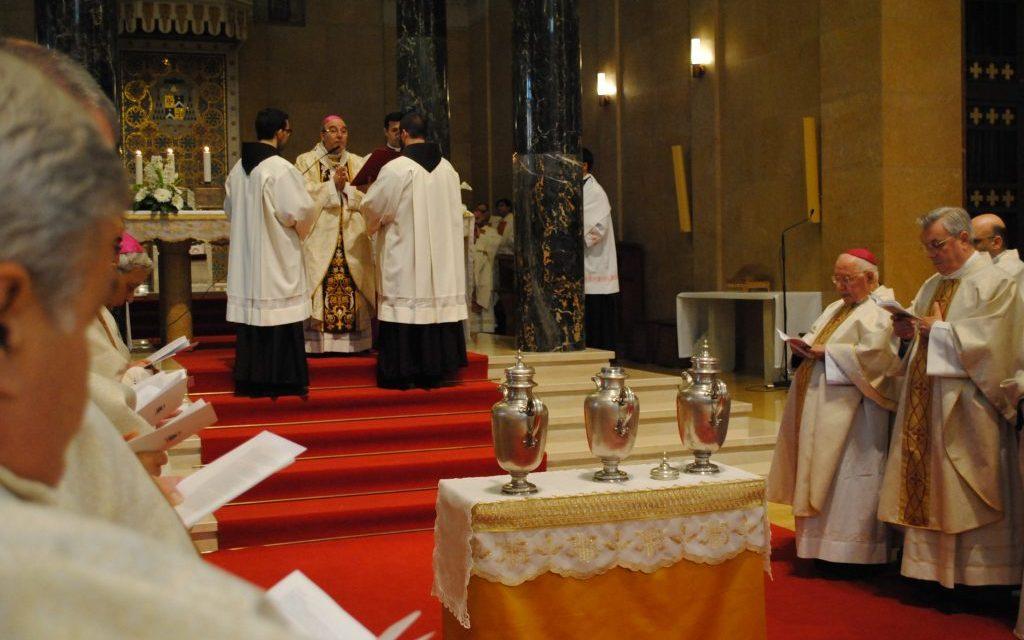 Messa crismale: omelia dell'Arcivescovo