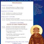 Festa di San Francesco 2018