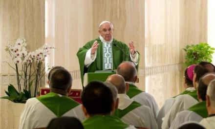 Papa: il vero cristiano è innamorato del Signore