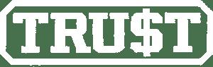 TRUST Logo (White)