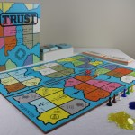 TRUST Board Game with Pieces