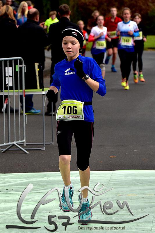 Die  schnellste Läuferin im Lauf der Schüler, Emily