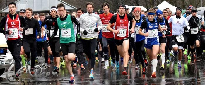 37. Silvesterlauf an der Obernautalsperre: Jonas Hoffmann knackt zwei Jugend-Rekorde