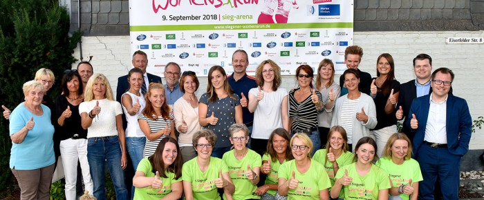 "1. Siegener Women's Run am 9. September: ""Siegener Frauenpower in Turnschuhen"""