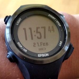 Epson GPS-Uhr SF-810