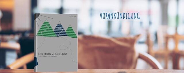 Buch Cover Bitte laufen Sie rechts ran! Markus Heidl