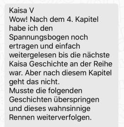 """Rezension zum Laufbuch """"Bitte laufen Sie rechts ran!"""""""