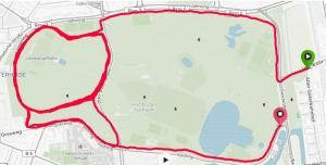 Sekündliche Aufzeichnung bietet sich, wenn die Strecke viele Kurven oder Terrain mit schlechtem Empfang bietet