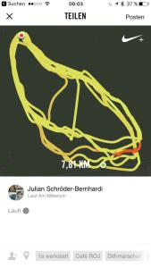 Auch ohne iPhone können nun Tracks aufgezeichnet werden