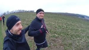 Hier mit dem Trainer Dirk