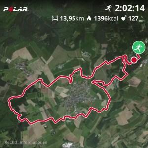 Die Strecke --- 11km *hust*