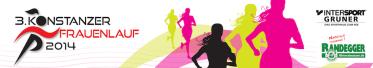 Logo 3. Frauenlauf Konstanz