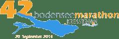 Logo 42. Bodensee Marathon