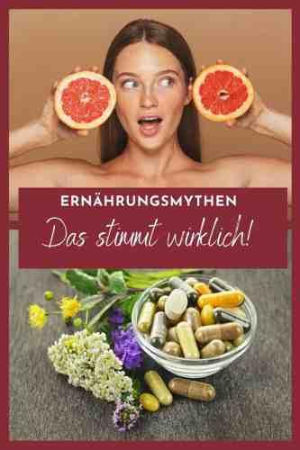 Ernährungsmythen aufgedeckt! Gibt es Abnahm-Lebensmittel, machen Kohlenhydrate dick und wie steht es um Eiweißpulver? Gesunde Ernährung zum Abnehmen und Wohlfühlen.
