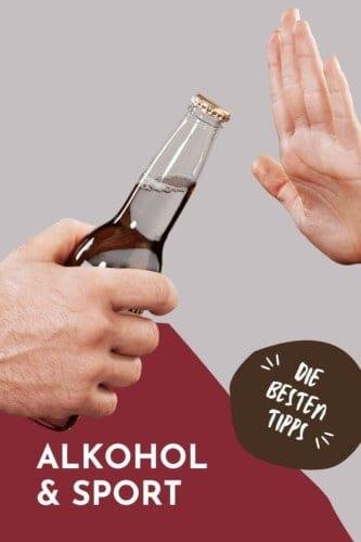 Alkohol und Sport - wie vertragen sich Muskelaufbau, Leistung und Training mit Alkoholgenuss?