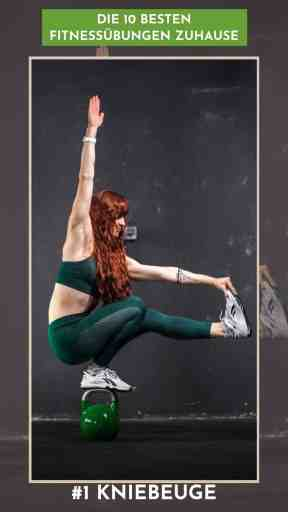 Die 10 besten #Fitnessübungen zuhause - hier findest du alle #Übungen, die du für ein effektives #Homeworkout benötigst. Inklusive Tipps für verschiedene Variationen und deinen persönlichen #Trainingsplan. #Muskelaufbau #Krafttraining #HomeFitness