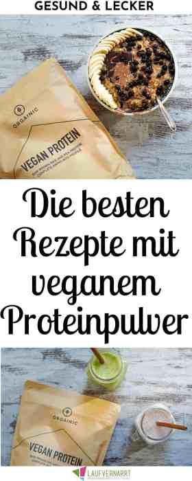 Pflanzliches Proteinpulver - aber bitte lecker! Hier kommen drei tolle Rezepte mit veganem Eiweißpulver sowie eine kurze Bewertung über die besten Proteine. #Eiweiß #vegan #Proteinpulver #Eiweißpulver #Rezepte